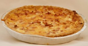 LARGE HAM & CHEESE QUICHE