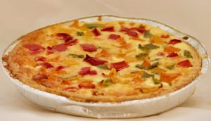 LARGE ROAST VEG QUICHE