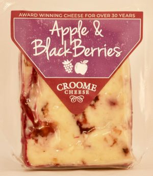BLACK BERRIES & APPLE CHEESE