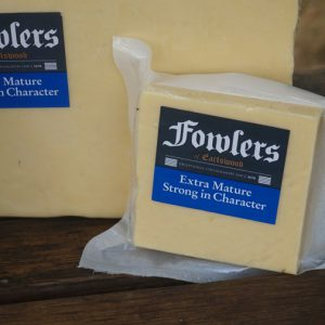 400G FOWLERS EXTRA MATURE CHEESE