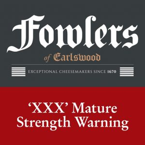 200G FOWLERS XXX MATURE CHEESE