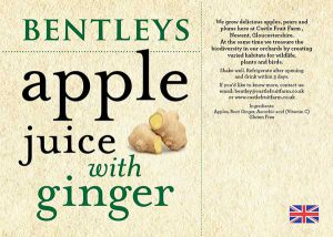 APPLE JUICE WITH GINGER 75cl