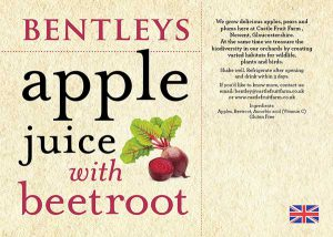 APPLE JUICE WITH BEETROOT (75cl)