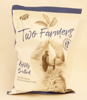 TWO FARMERS LIGHTLY SALTED CRISPS 150g