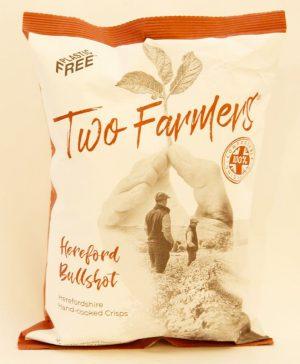 TWO FARMERS BULLSHOT CRISPS 150g