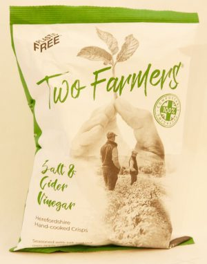 TWO FARMERS SALT & CIDER VINEGAR 150g