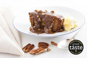 LARGE TOFFEE & PECAN PUDDING