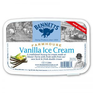 BENNETTS VANILLA ICE CREAM