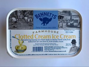 BENNETS CLOTTED CREAM ICE CREAM