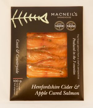 MACNEILS CIDER APPLE CURED SALMON