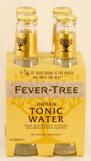 FEVERTREE INDIAN TONIC WATER 4 PACK