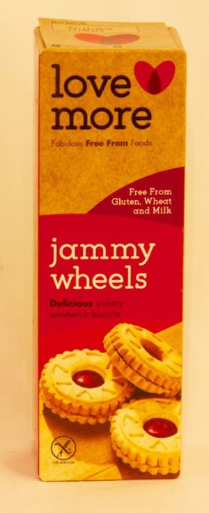 GLUTEN FREE JAMMY WHEELS