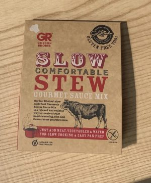 GORDON RHODES SLOW COMFORTABLE STEW MIX