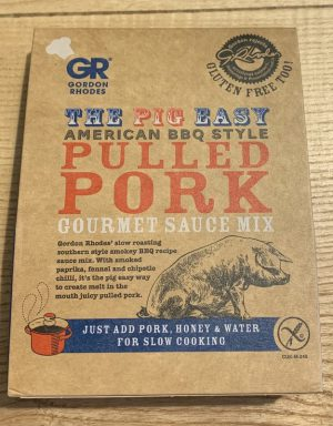 GORDON RHODES PIG EASY PULLED PORK MIX
