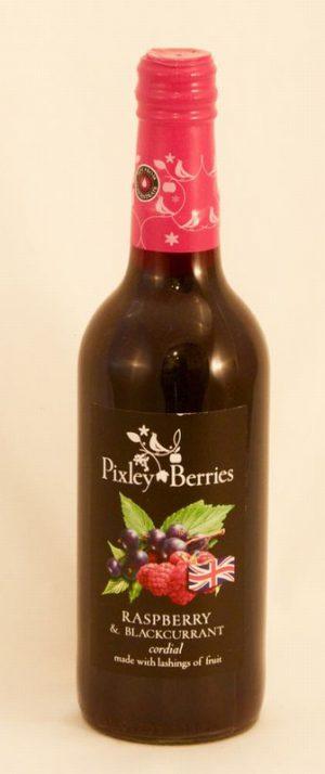 PIXLEY BERRIES RASPBERRY & BLACKCURRANT CORDIAL
