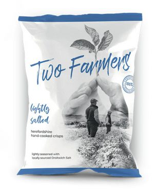 TWO FARMERS LIGHTLY SALTED 40g