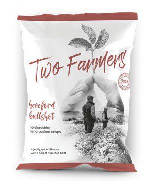 TWO FARMERS HEREFORD BULLSHOT 40g
