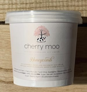 120ml CHERRY MOO HONEYCOMB ICE CREAM