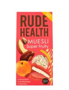 RUDE HEALTH MUESLI SOFT & FRUITY