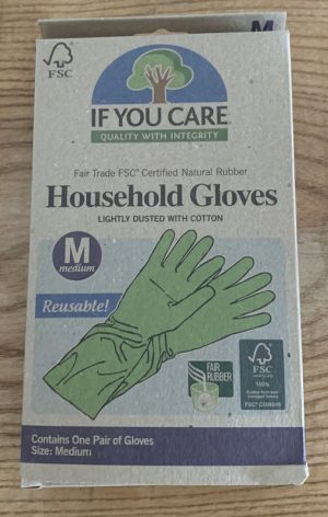 IF YOU CARE HOUSEHOLD GLOVES M