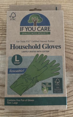 IF YOU CARE HOUSEHOLD GLOVES L
