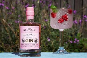 BOUTIQUE DISTILLERY RASPBERRY & HIBISCUS GIN 50cl