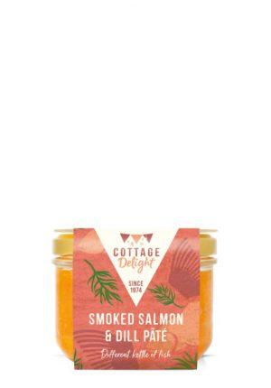 SMOKED SALMON & DILL PATE