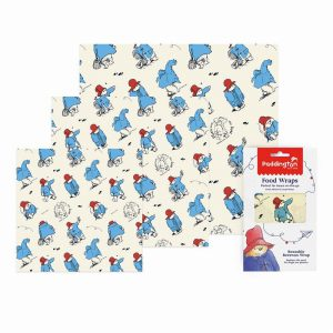 PADDINGTON BEESWAX REUSABLE FOOD WRAP