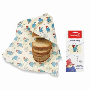 PADDINGTON BEESWAX REUASABLE BREAD WRAP