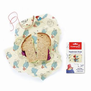 PADDINGTON BEESWAX REUASBLE SANDWICH WRAP