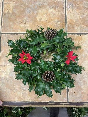 SMALL CHRSITMAS WREATH £7.95