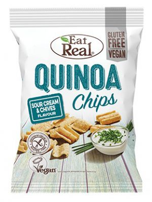 EAT REAL SOUR CREAM & CHIVE QUINOA CHIPS