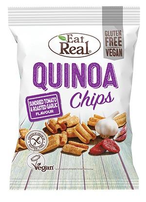 EAT REAL SUNDRIED TOMATO & GARLIC QUINOA CHIPS
