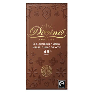 DIVINE FAIRTRADE MILK CHOCOLATE 100G