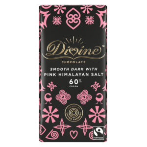 DARK CHOCOLATE WITH HIMALAYAN SALT 60% DARK 100g