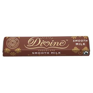 DIVINE FAIRTRADE MILK CHOCOLATE BAR 35g