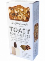 TOAST FOR CHEESE DATES, HAZELNUTS & PUMPKIN SEEDS