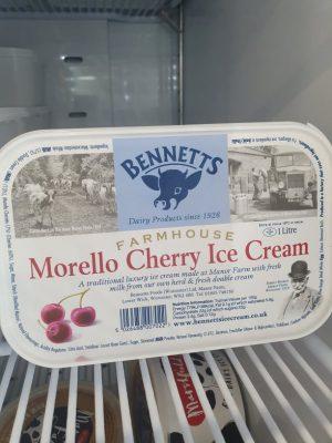 BENNETTS MORERLLO CHERRY ICE CREAM