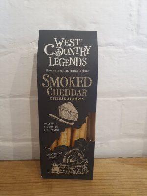 SMOKED CHEDDAR CHEESE STRAWS
