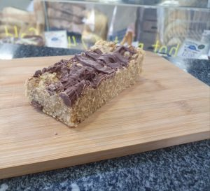 HOMEMADE CHOCLATE FLAPJACK