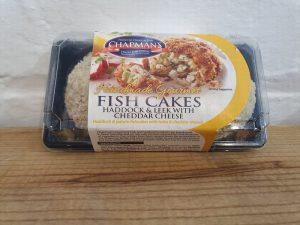 HADDOCK & LEEK WITH CHEDDAR CHEESE FISH CAKES