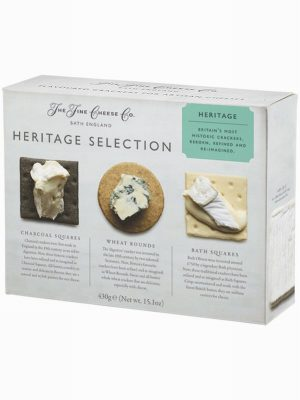 THE FINE ENGLISH CHEESE CO. HERITAGE SELECTION CRACKERS